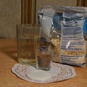 Маска для лица из семян льна