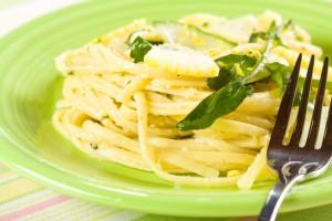 Низкокалорийная паста с лимонно-сливочным соусом