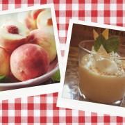 Персиковый пирог в стакане
