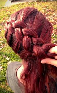 Вплетаем волосы