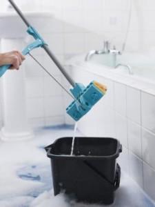 Как мыть пол из фарфоровой плитки